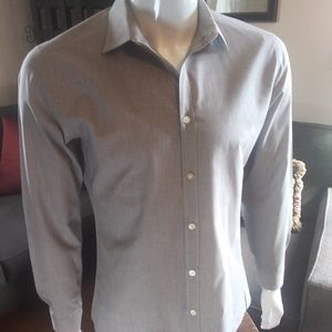 H&M Grey Dress Shirt, Easy Iron